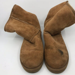 Mid UGG Brown Boots Size US 9